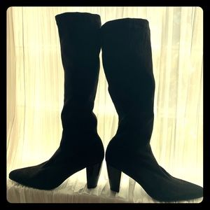 Vaneli suede boots size 10M